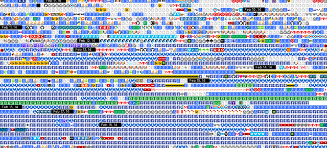 See Your Entire Browser History In a (Somewhat Terrifying) Favicon Grid