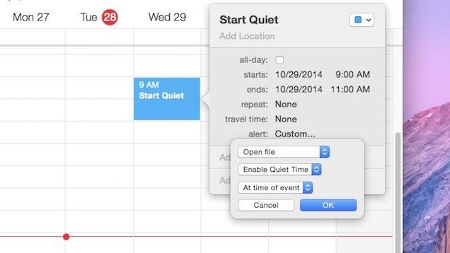 Schedule Quiet Times on Your Mac with These Automator Apps