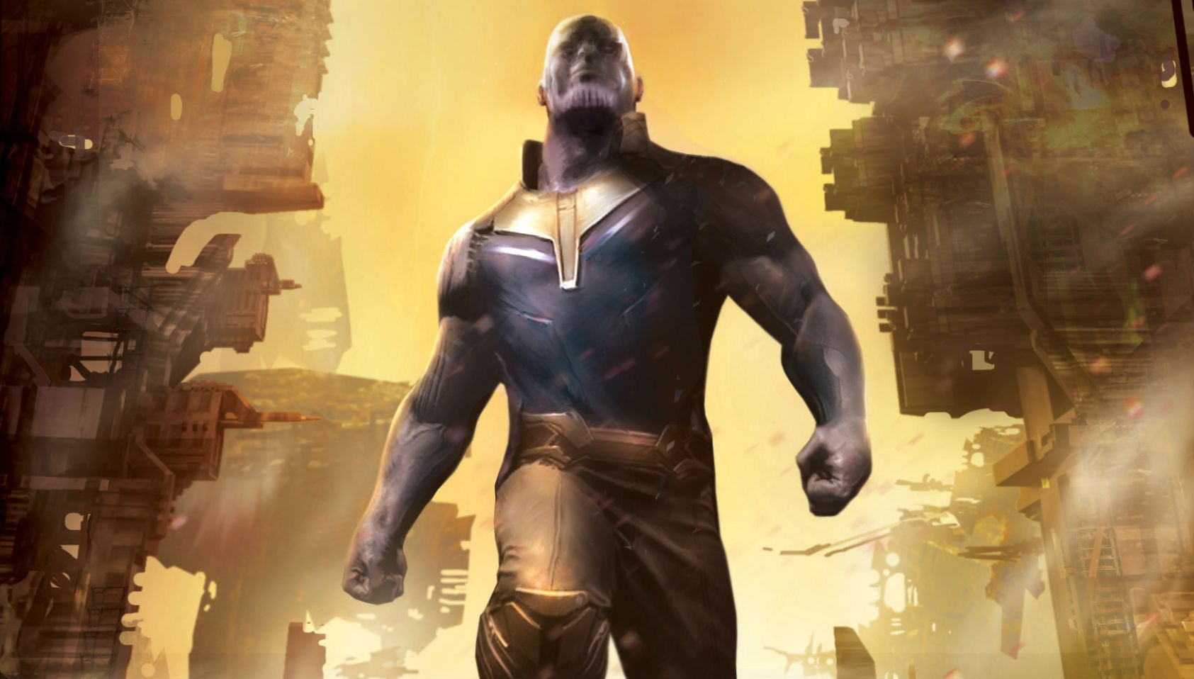 The Marvel Cinematic Universe's Thanos Origin Will Be Revealed, But Not In A Movie