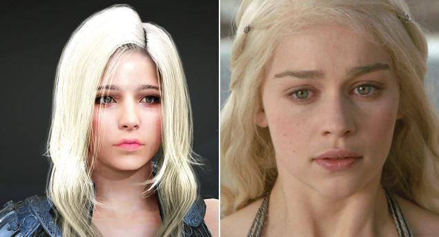 Famous Celebrities Recreated in Stunning MMO