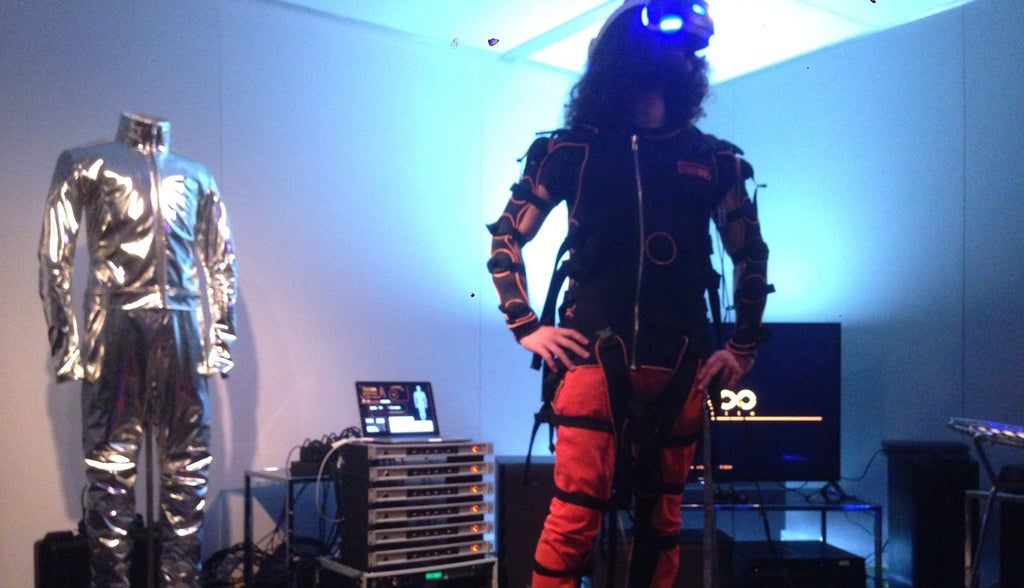 What It's Like To Play Rez In A Full-Body VR Suit