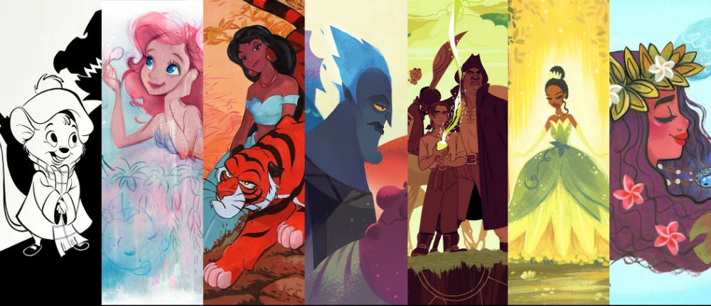 Celebrate Two Of Disney's Most Prolific Directors With This Incredible Art