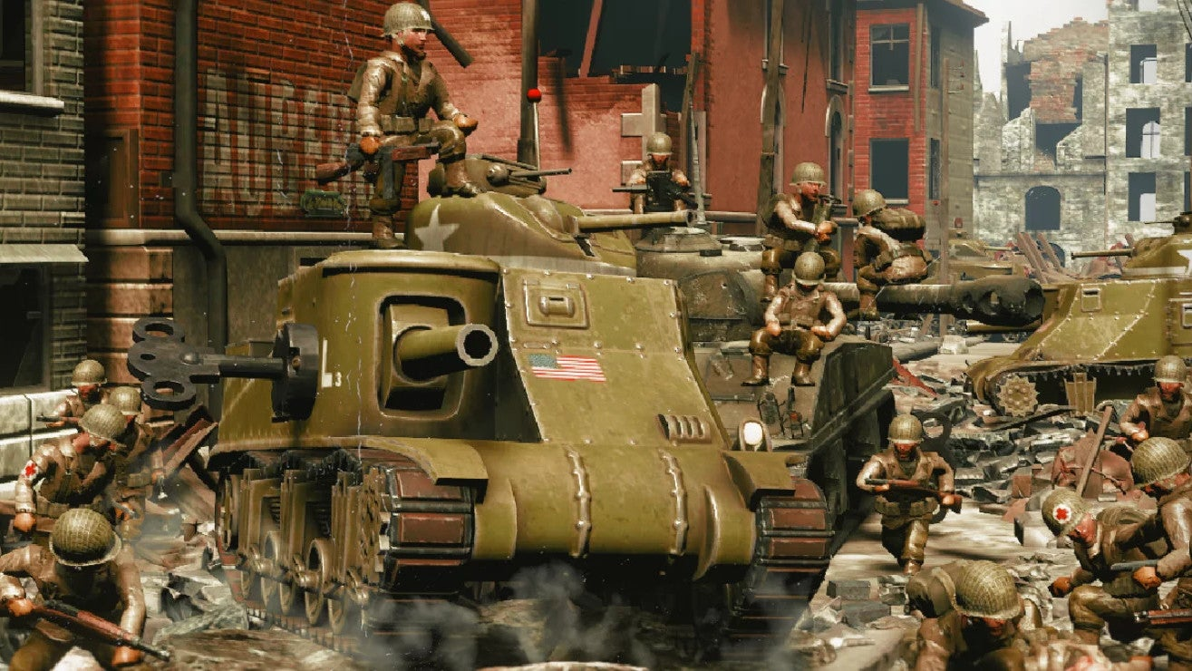 Oh Hell Yeah Toy Soldiers Is Getting A WW2 Sequel