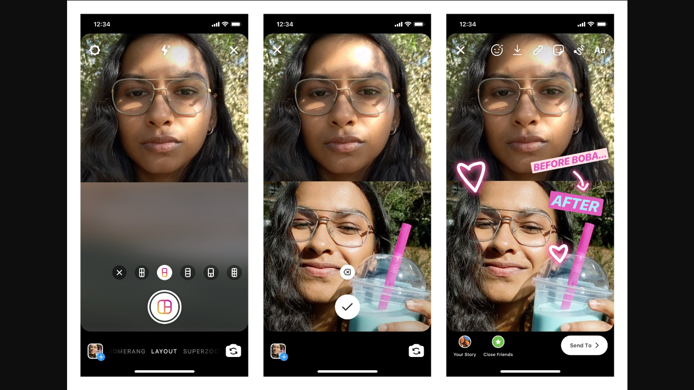 How To Use Instagram's New Layouts Mode