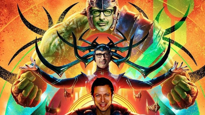 The One Thing The New Thor: Ragnarok Poster Needed To Be Perfect Was More Jeff Goldblum