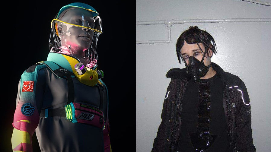 This Ugly Cyberpunk Clubbing Suit, As Analysed By A Former Cybergoth