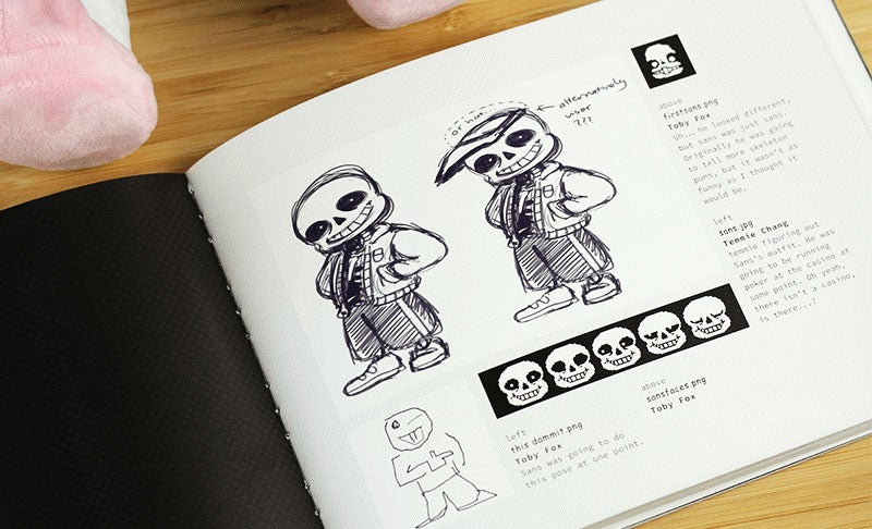 Fine Art: There's An Undertale Art Book