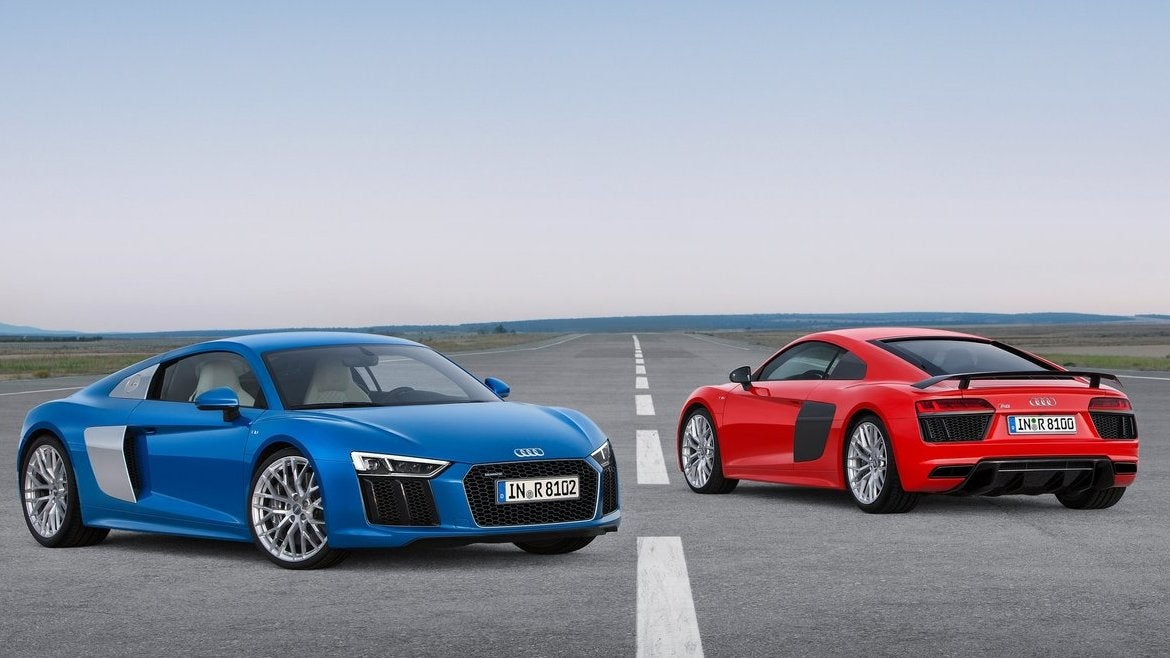 Audi pulls covers off rear-wheel-drive R8 V10 RWS