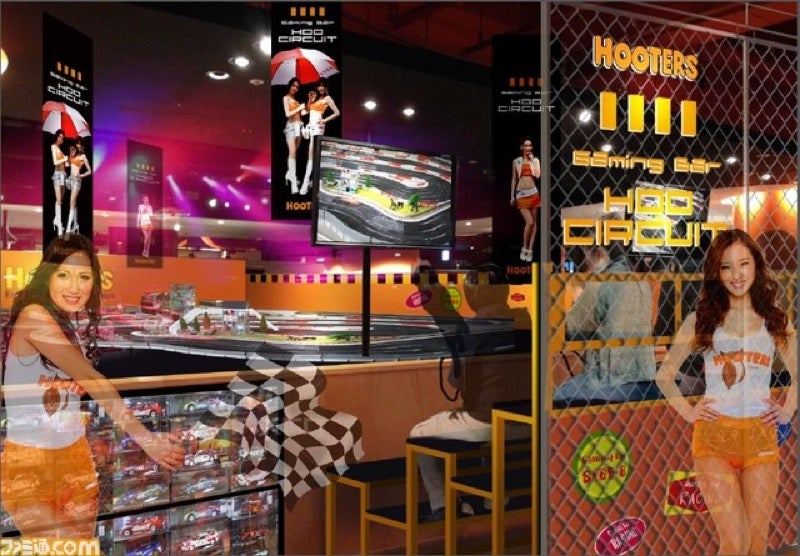 Hooters and Namco Are Opening a New Arcade in Tokyo