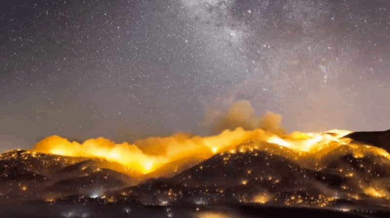 This Timelapse of Californian Wildfires Is Absolutely Apocalyptic