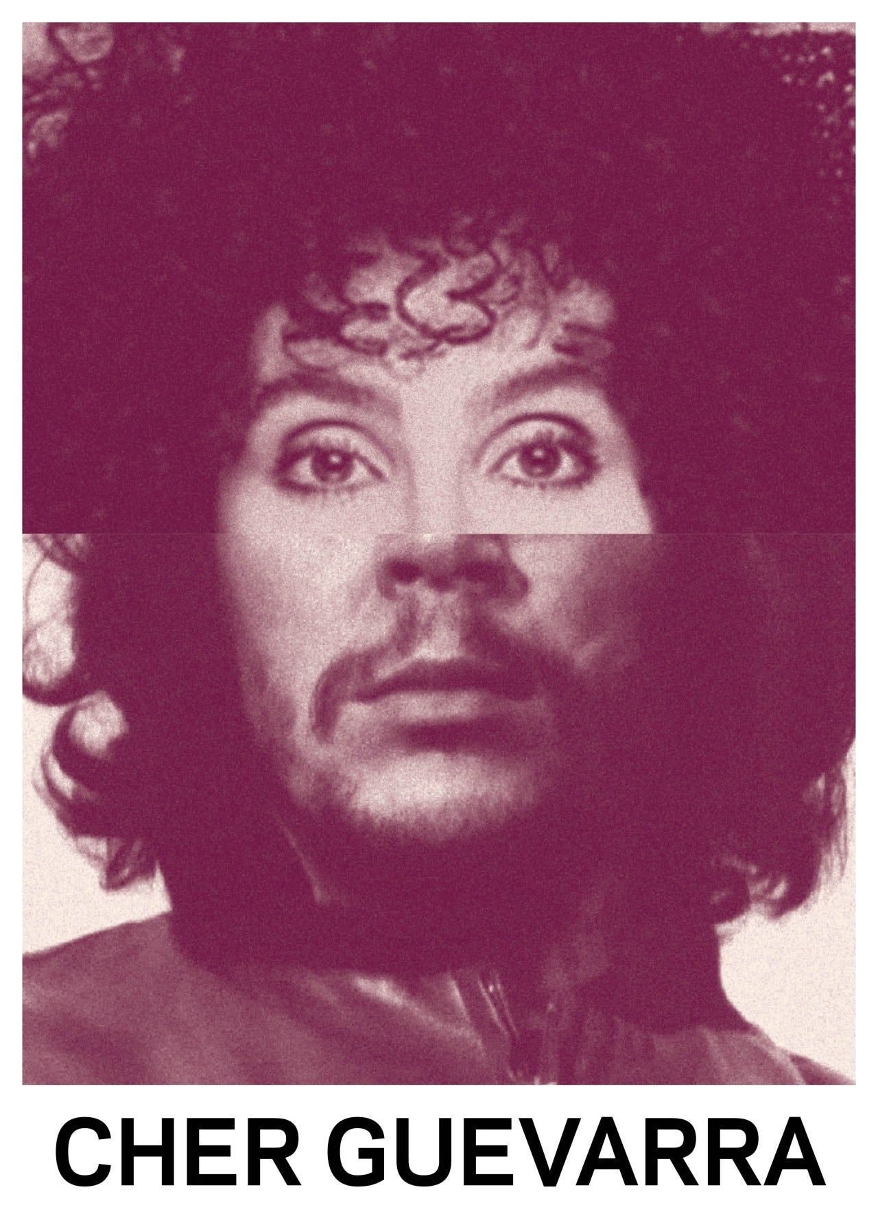 Names and faces of celebrities combined in a series of hilarious mashups