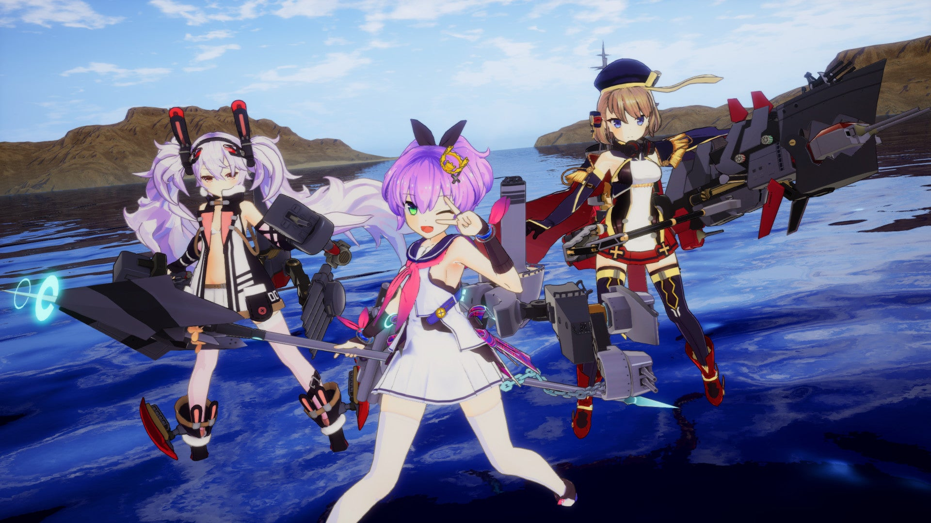 That Anime Women As Battleships Game Comes To PS4 And Steam Next Month