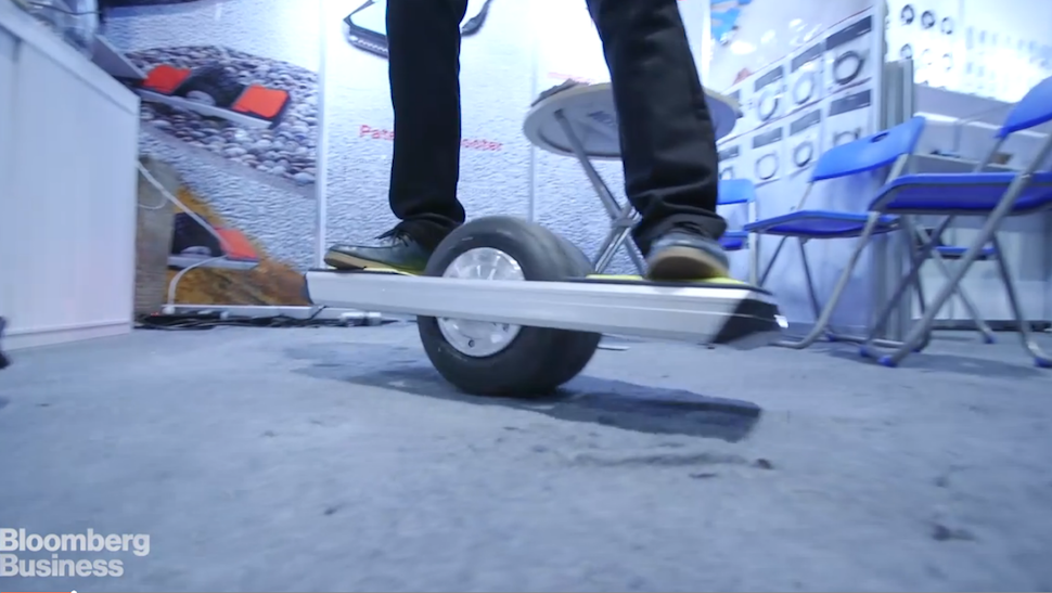Feds Raid Hoverboard Booth at CES