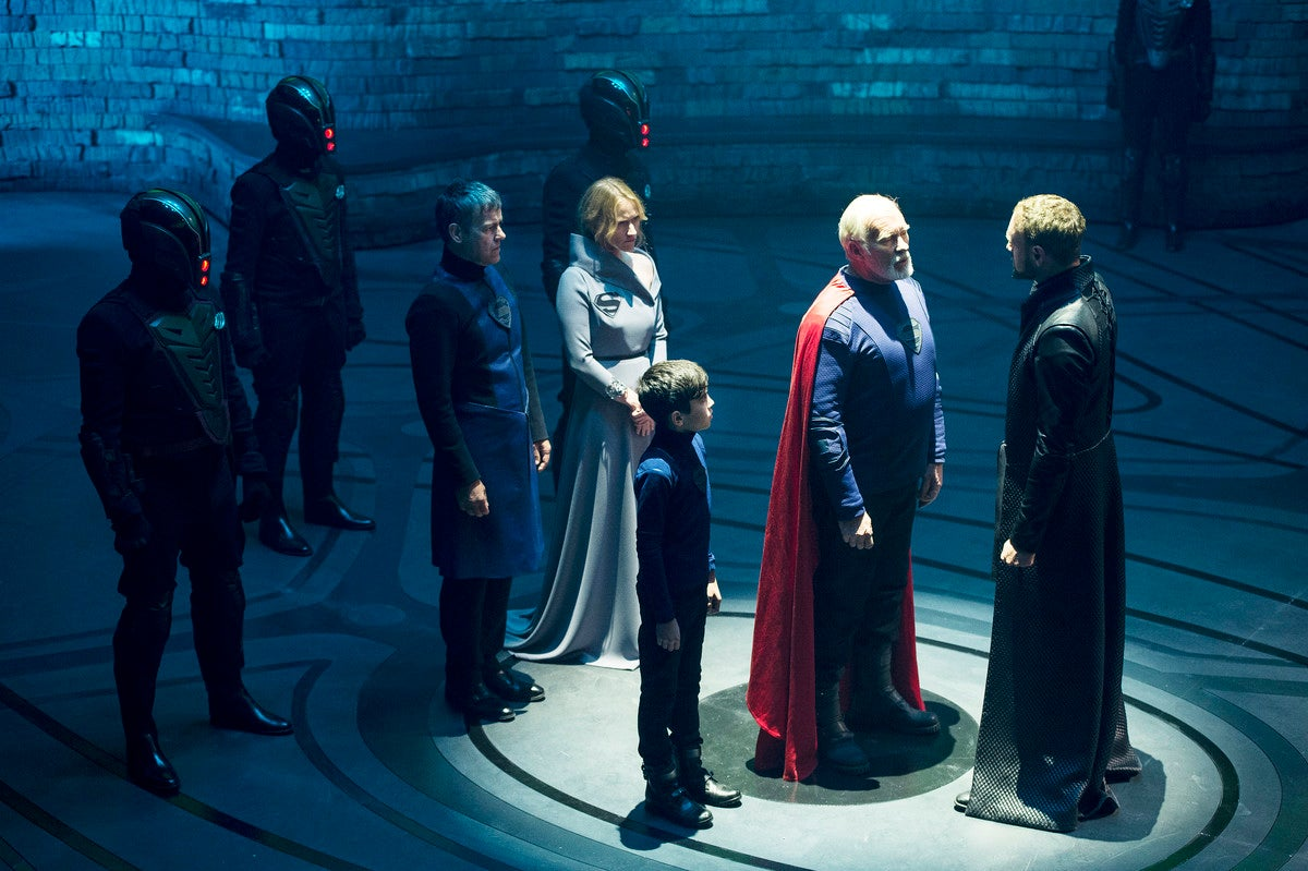 The First Episode Of Krypton Reveals An Alien World That Feels All Too Familiar