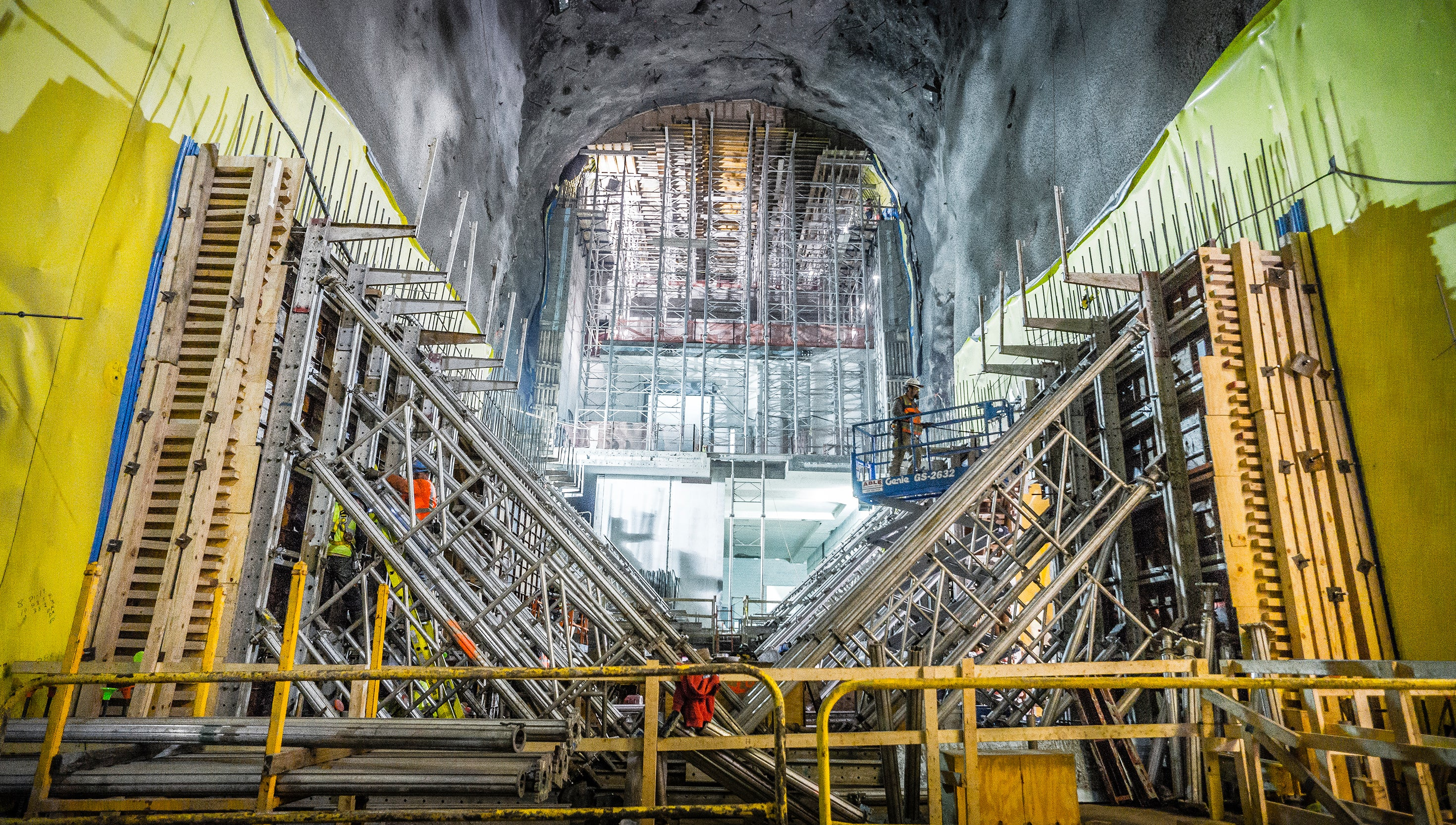 A New Glimpse Into the Gigantic Construction Project Hidden Below NYC