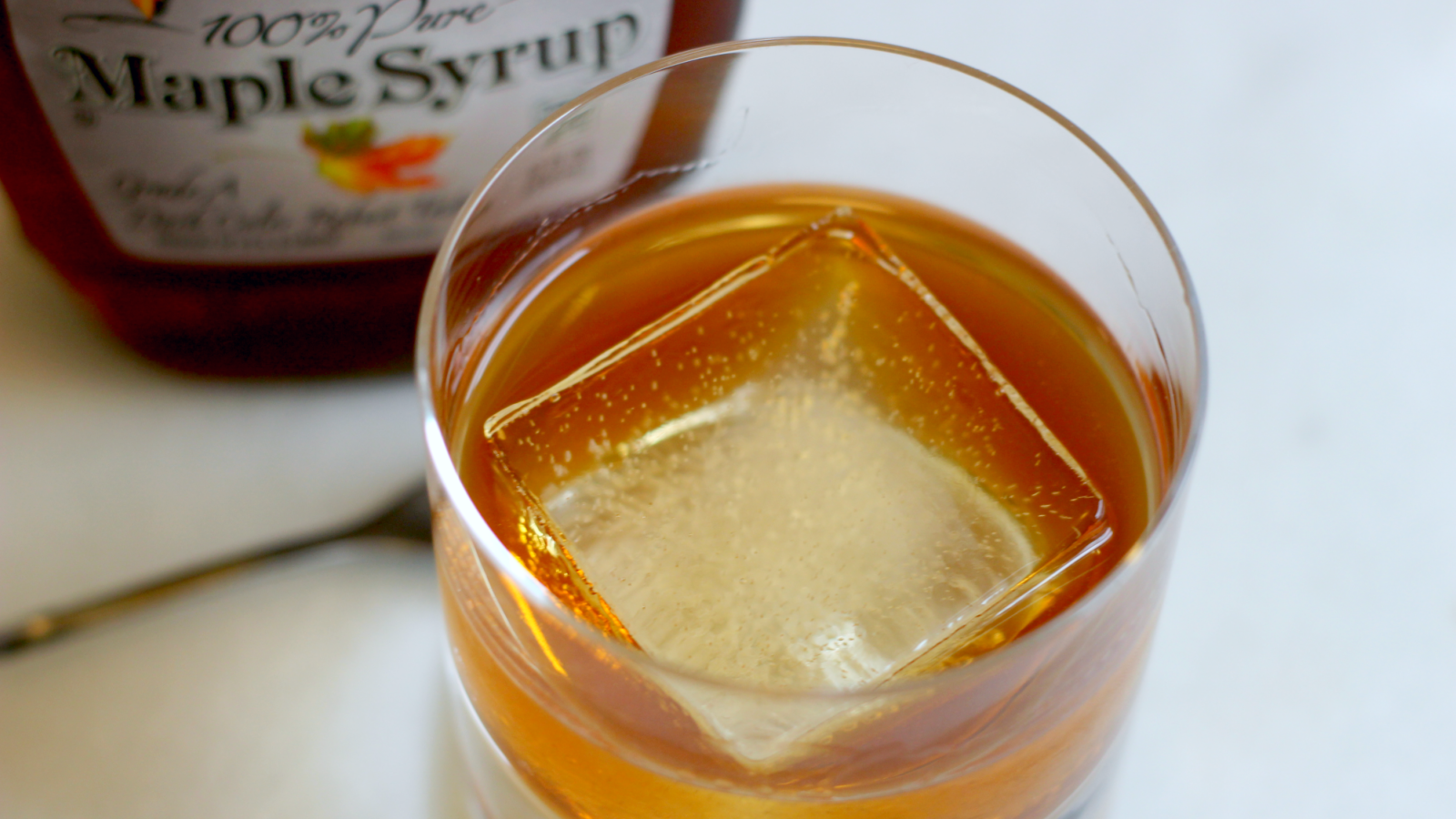 3-Ingredient Happy Hour: A Maple Old Fashioned