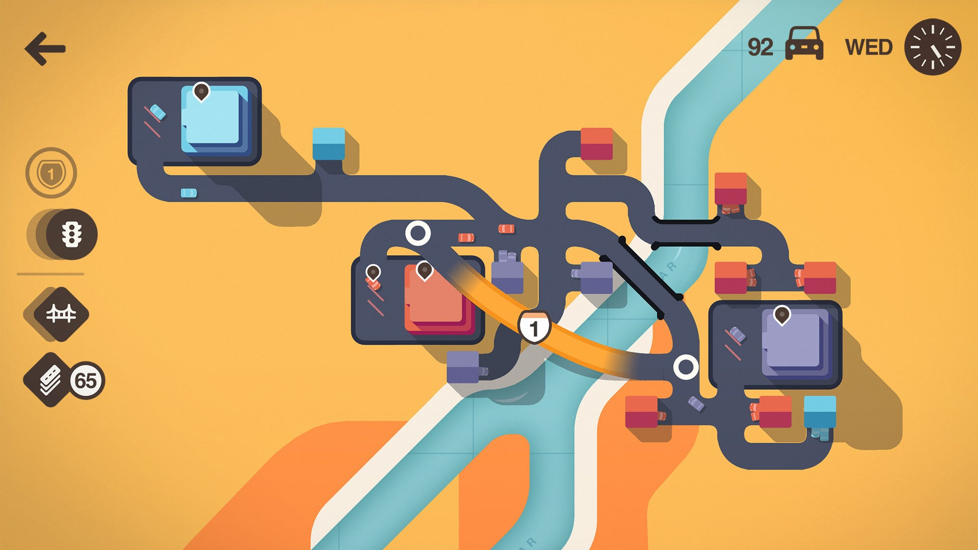 Highway Planning Game Really Underscores How Inefficient Cars Are