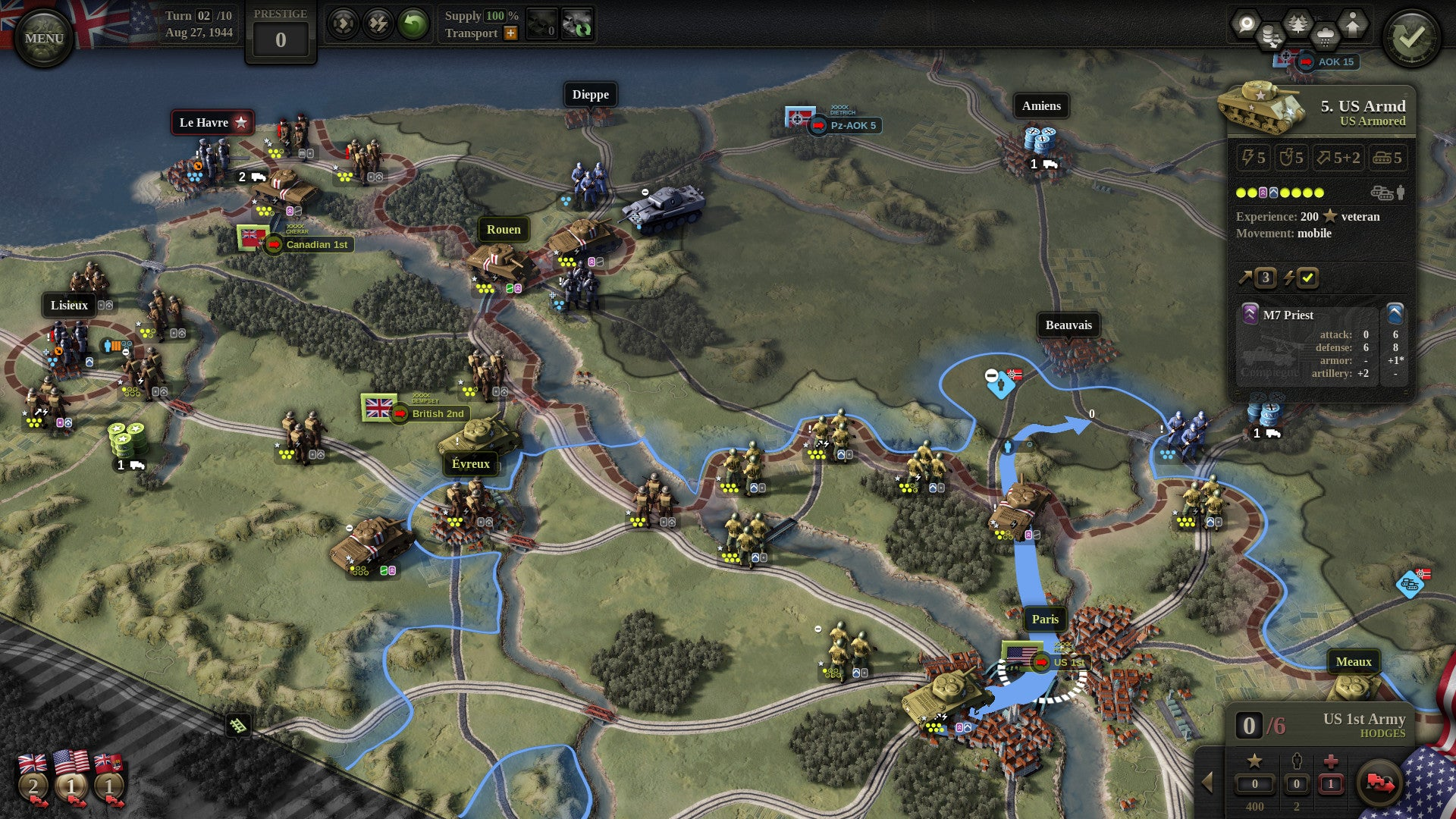 Unity Of Command II Is A Really Solid World War Two Strategy Game
