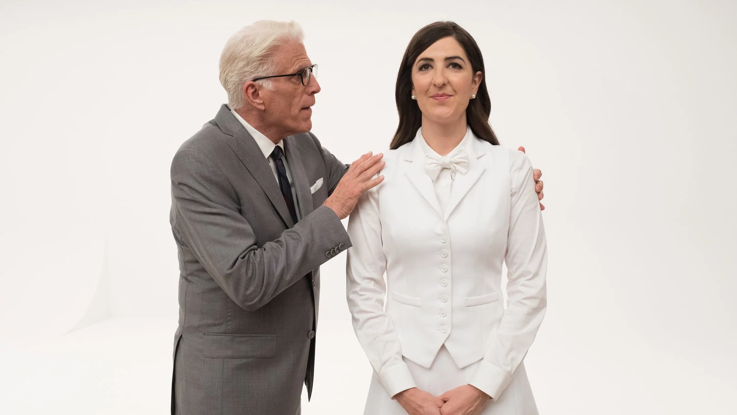 The Newest Promo For The Good Place Is Just Janet's Endless, Soothing Void