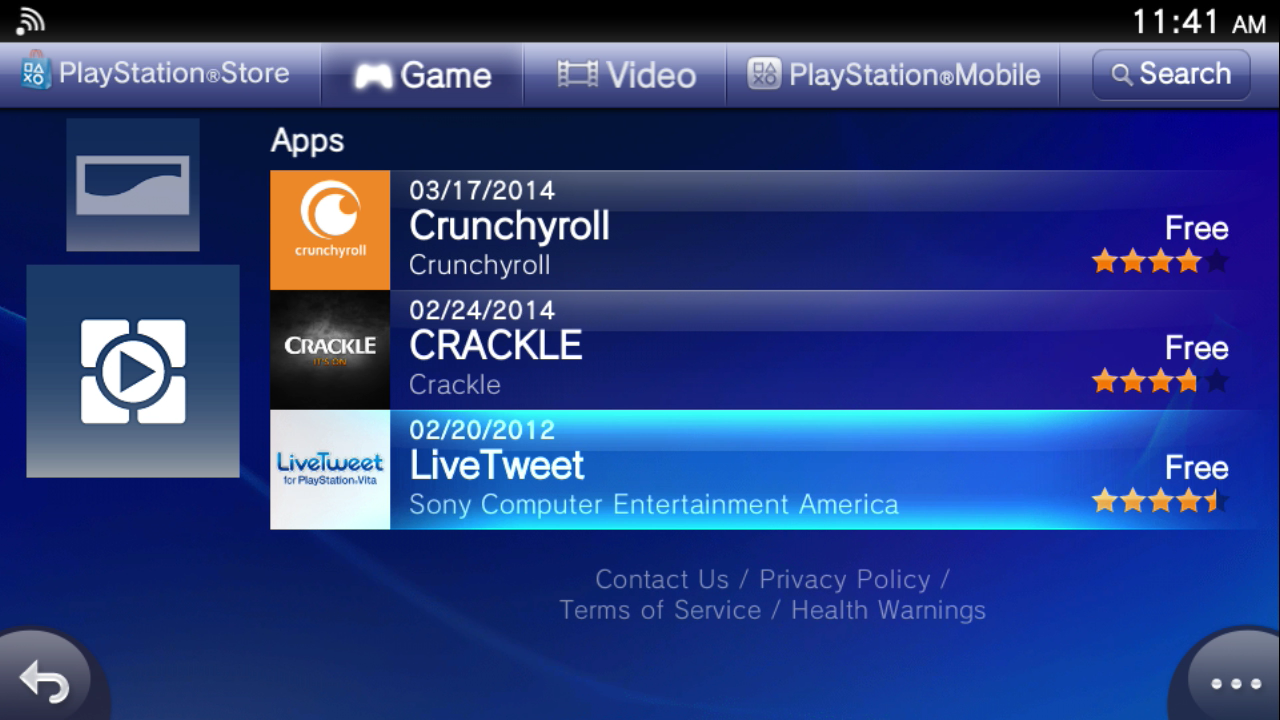 PlayStation TV's Video App Selection Is Rather Sparse Right Now