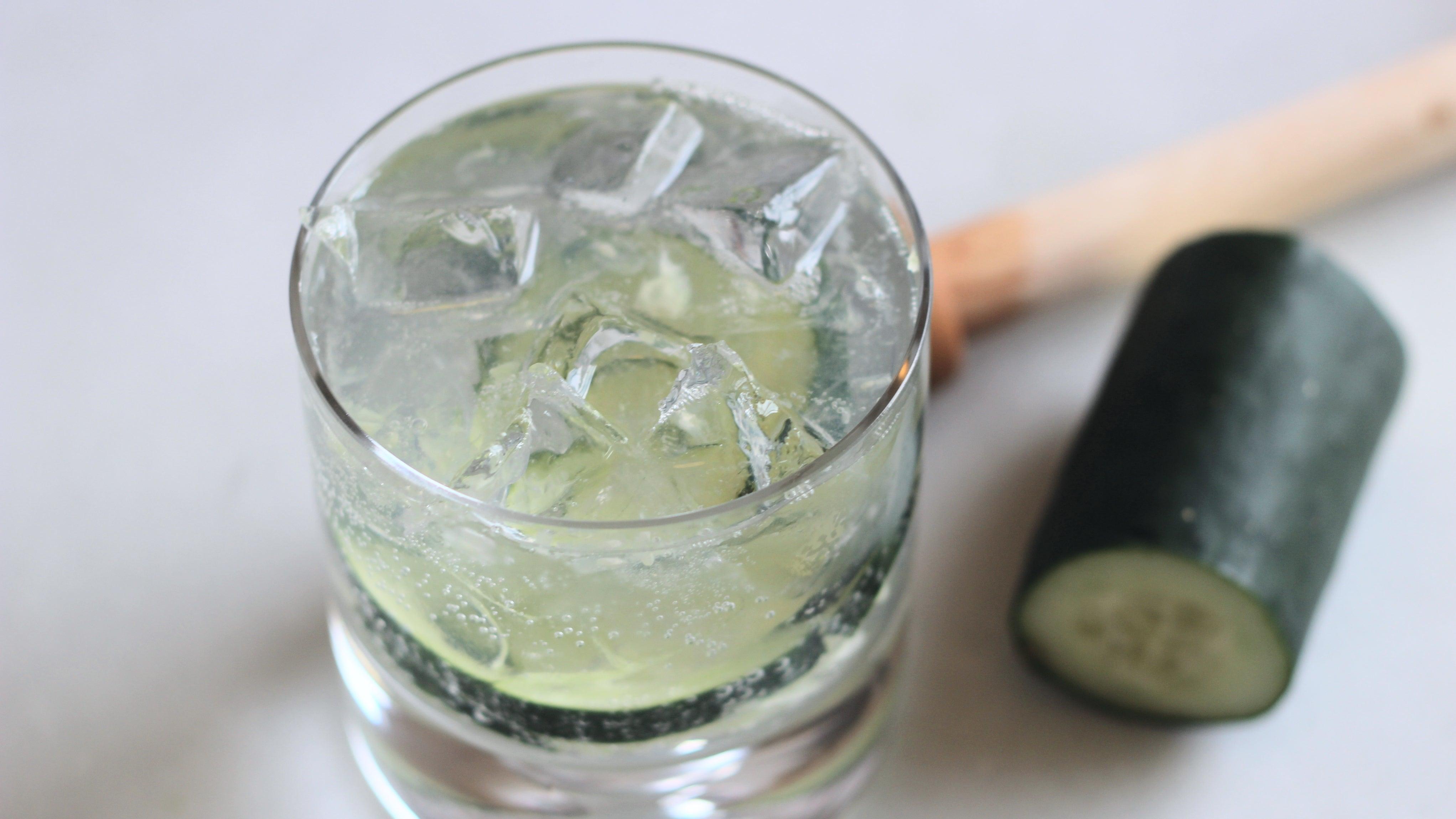 Make This Smashed Cucumber Gin & Tonic