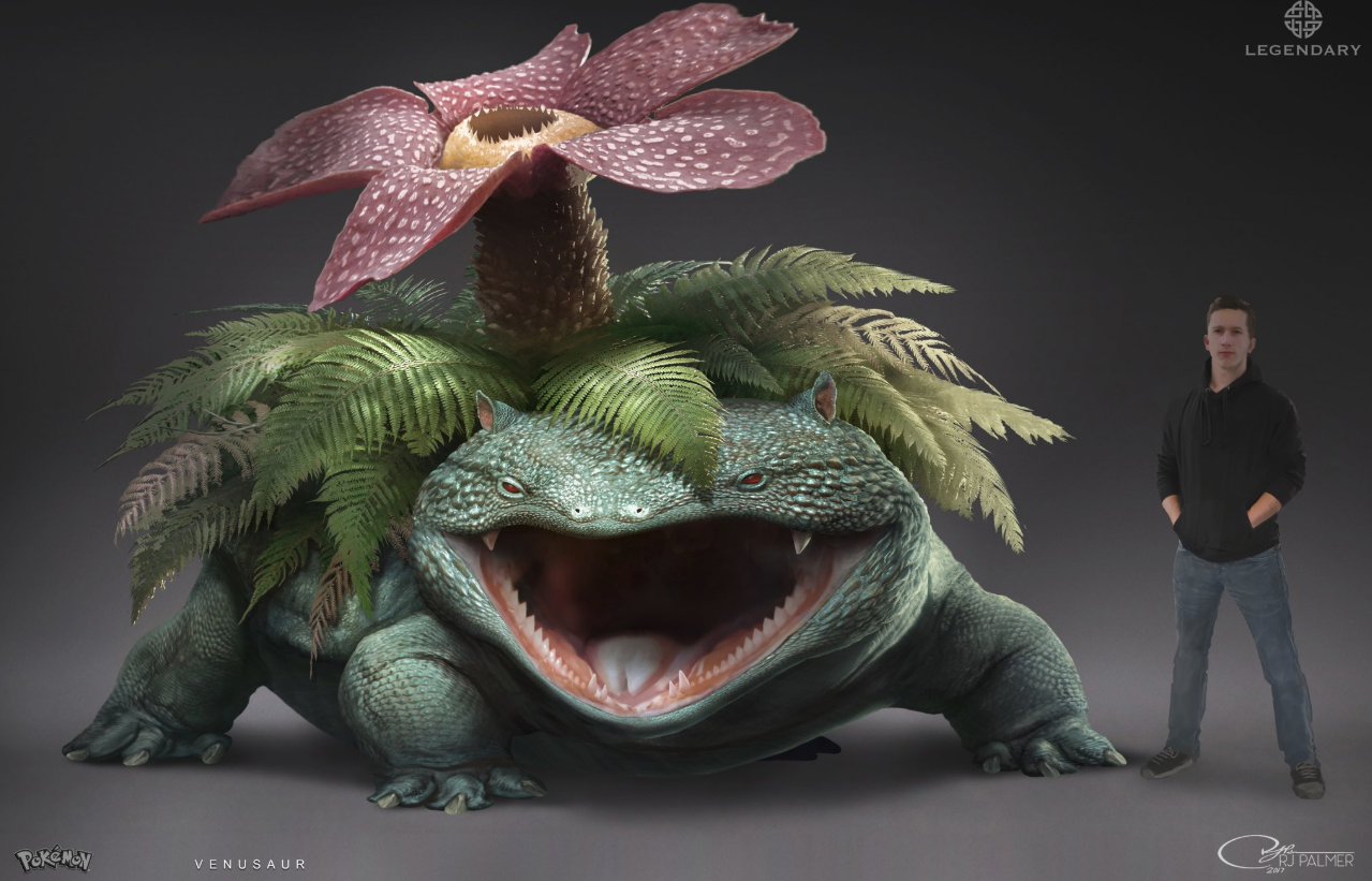 This Venusaur Was Too Scary For Detective Pikachu