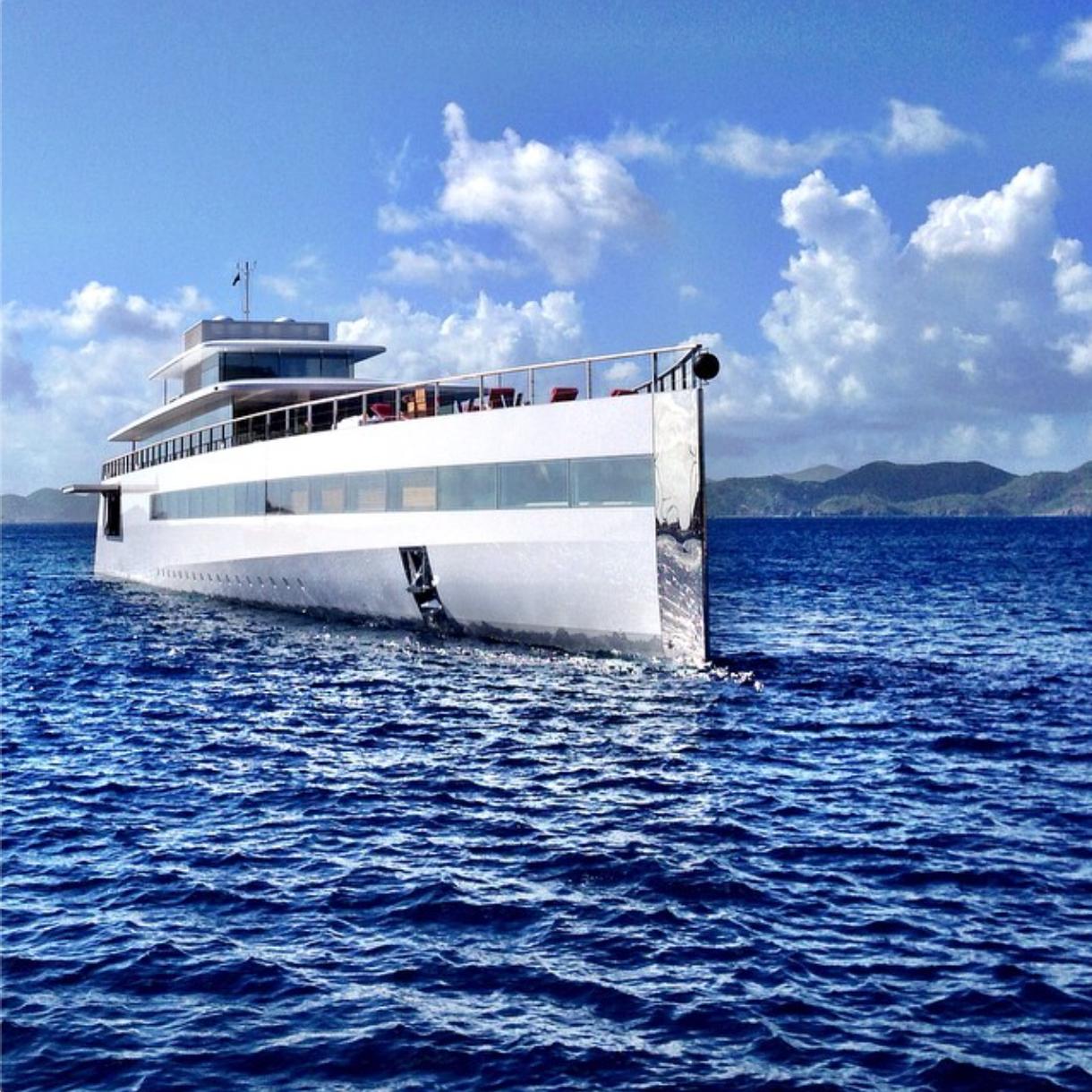 First peek into Steve Jobs' luxury yacht interior