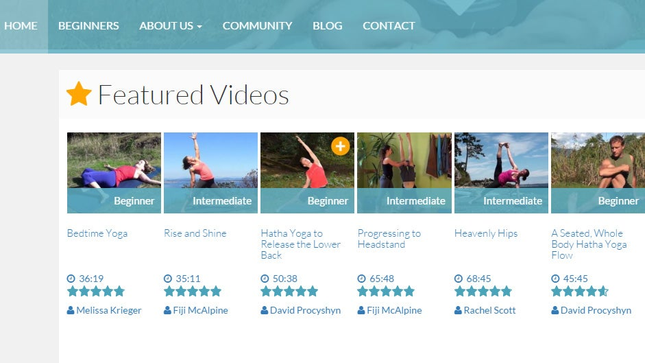 DoYogaWithMe Streams Hundreds of Yoga Videos for Free