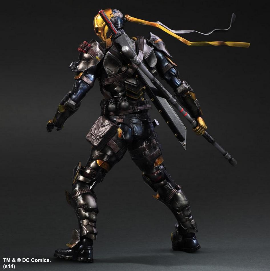 NYCC Exclusive Arkham Origins Deathstroke Action Figure