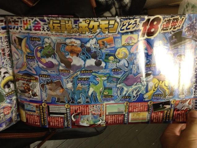 So Many Legendary Pokémon Coming to Omega Ruby and Alpha Sapphire