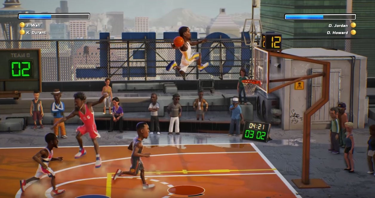 New Basketball Game Is Basically NBA Jam 2017