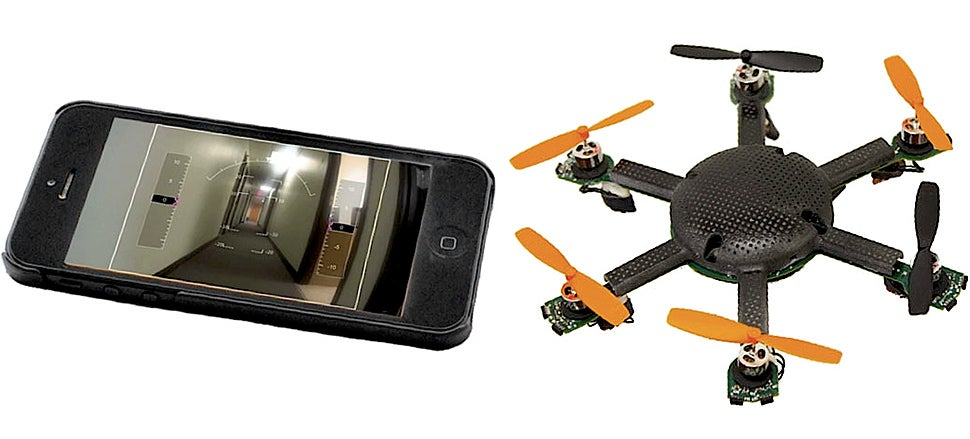 This Tiny Pocket Drone Flies For Two Hours With a Thin Wire Tether