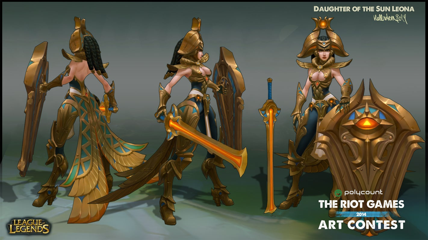 League Of Legends Character Design Contest : League of legends characters art so good they should be