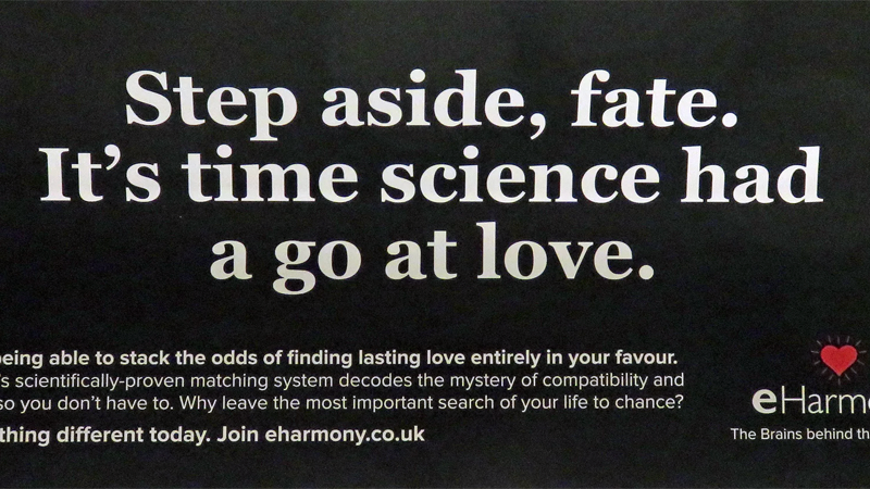 British Regulators Ban eHarmony Ad For Claiming Service Is 'Scientifically Proven'
