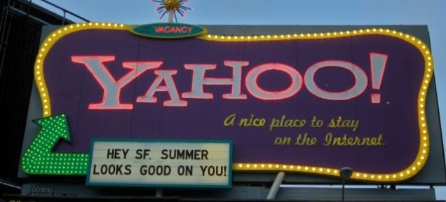 Yahoo Is Spinning Off Everything Except Alibaba