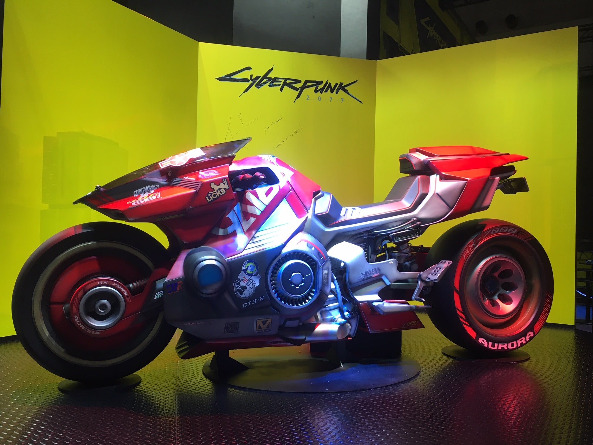 The Motorcycles Of The Tokyo Game Show