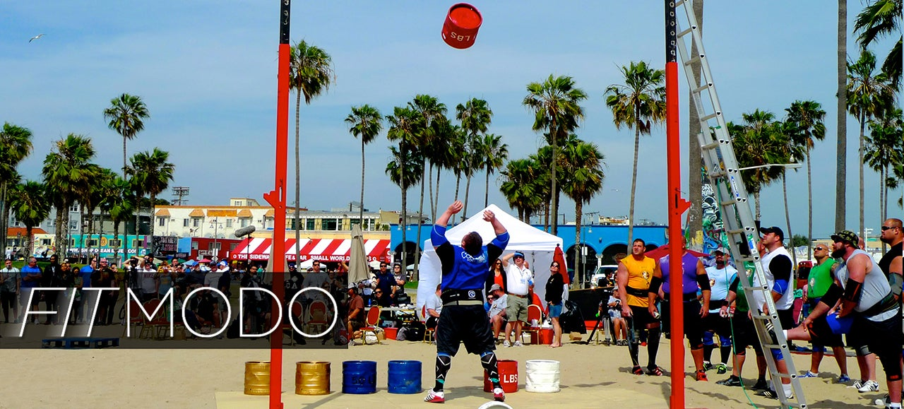Fitmodo: A Day At Muscle Beach With The World's Strongest Man