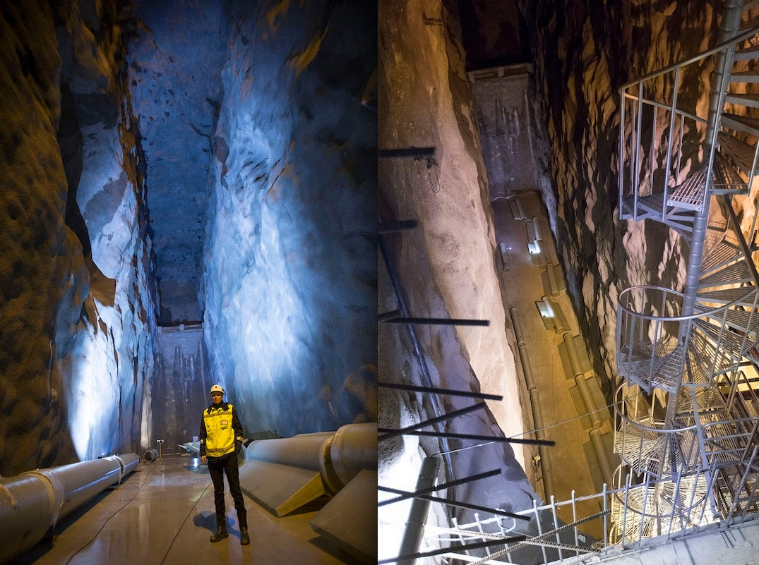 Helsinki Blasted Out an Underground Lake To Water-Cool Its Buildings