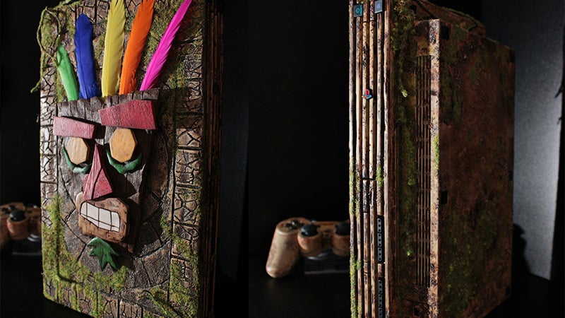 Custom PS2 Is A Worthy Tribute To Crash Bandicoot 2