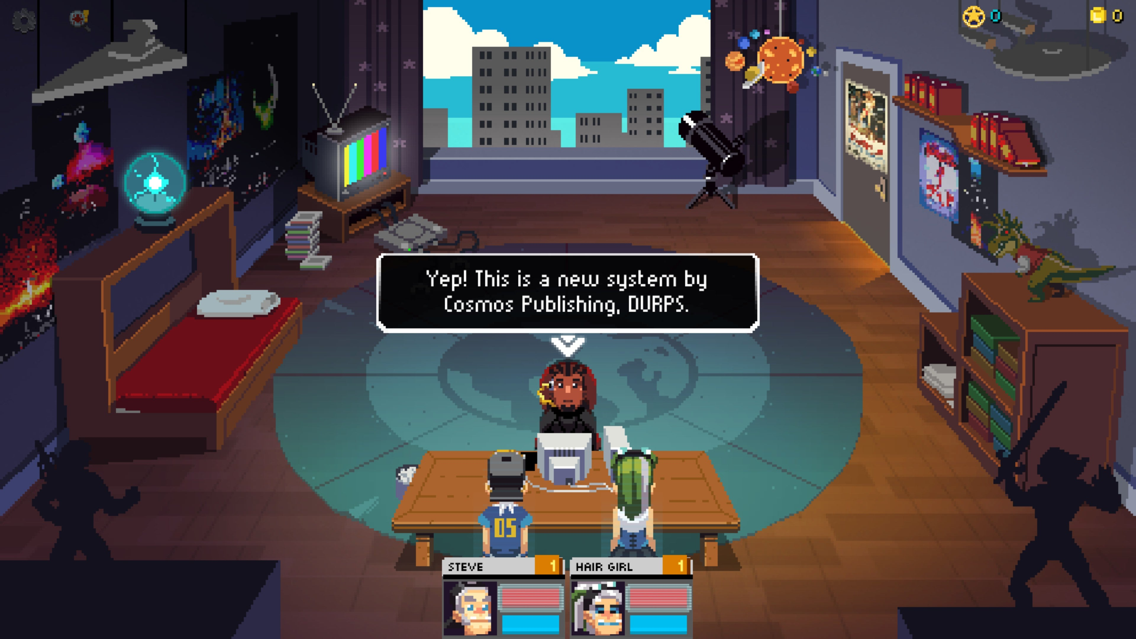 Galaxy Of Pen And Paper Is An RPG About Playing An RPG