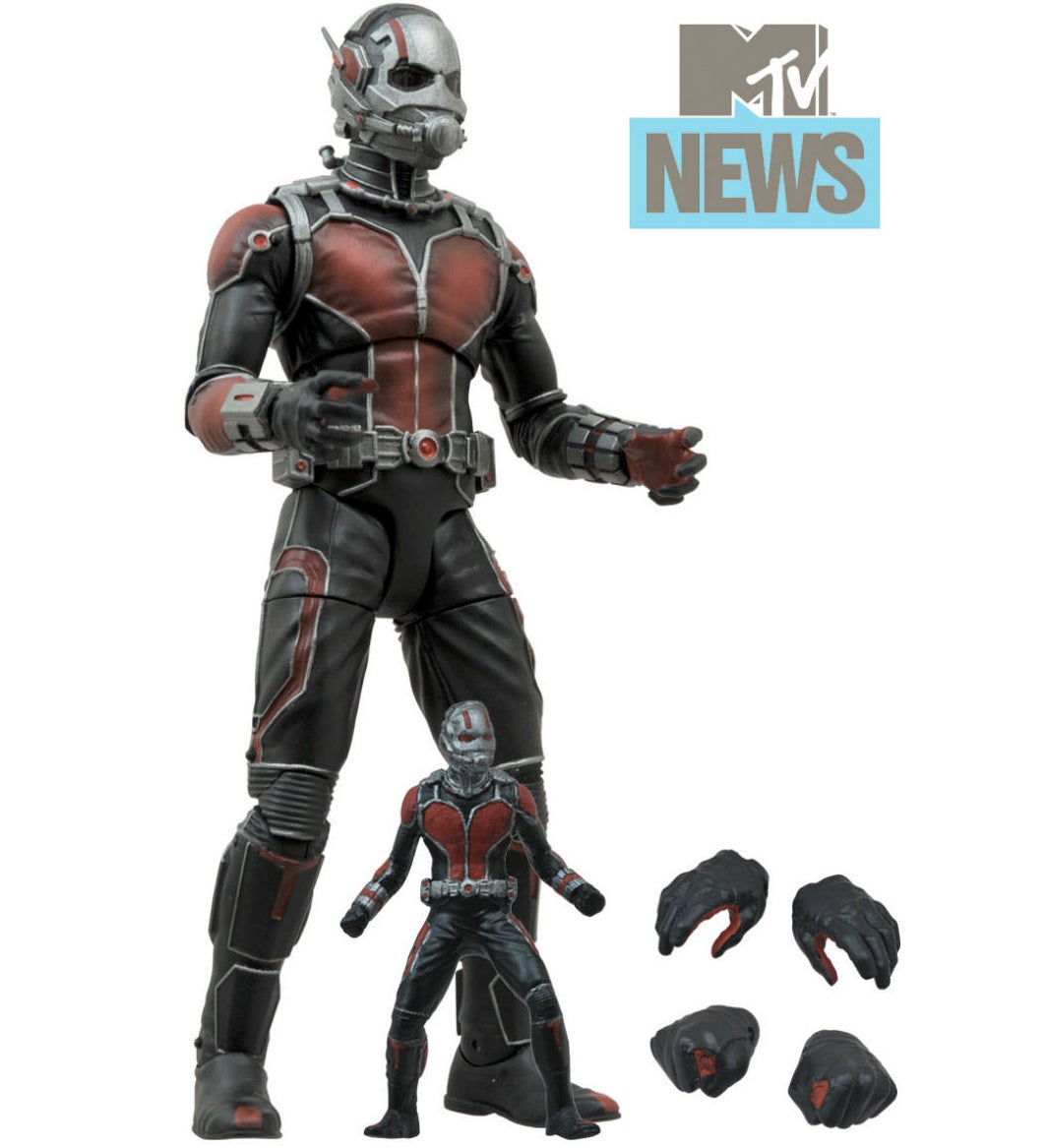 Here's What Ant-Man Looks Like In Action Figure Form