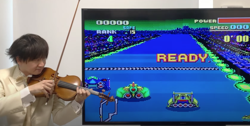 Retro Nintendo Games Come To Life With A Violin
