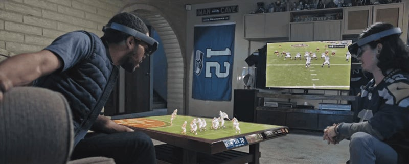 Microsoft's Vision Of Future NFL Fans Is A Cold, Gimmicky Nightmare