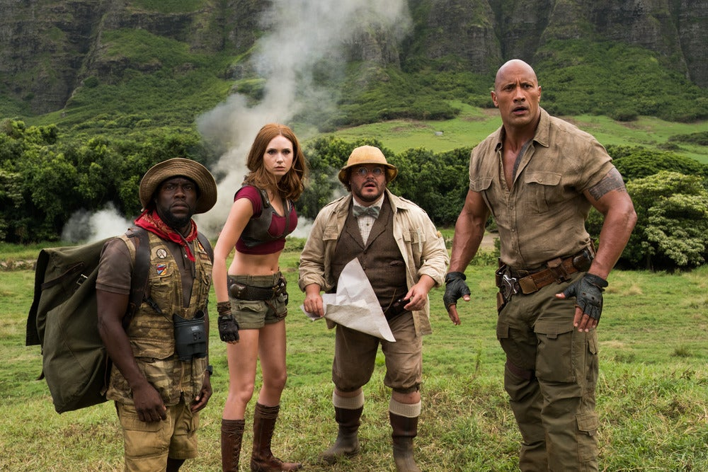 The Charismatic Cast Of Jumanji Elevates An Otherwise Trivial Action Adventure