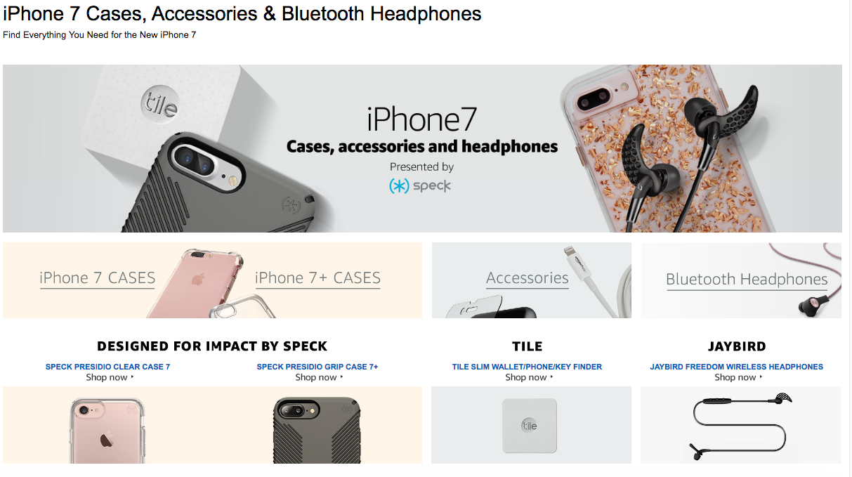 Amazon Just Blew The Lid Off The iPhone 7