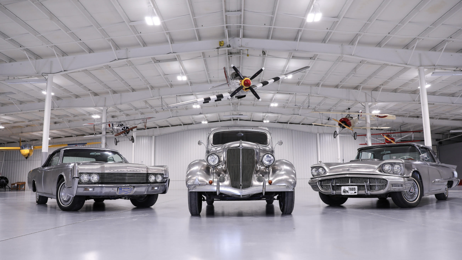These Three Classic Fords Are Solid Detroit Stainless Steel
