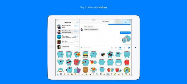 Facebook Messenger Finally Comes to the iPad