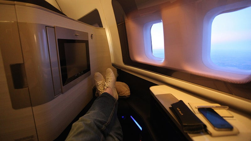 Have You Ever Been Upgraded To First Class Without Paying For It?