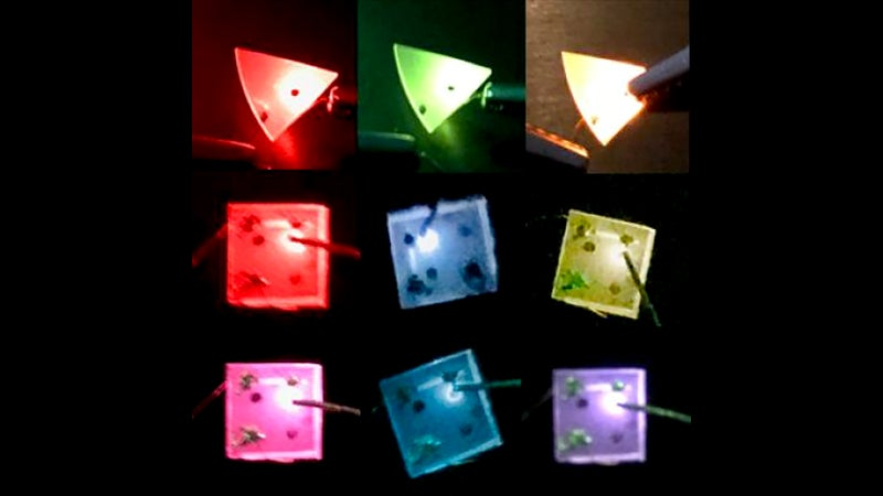 Colour-Changing LEDs Pave The Way To Impossibly High Screen Resolutions