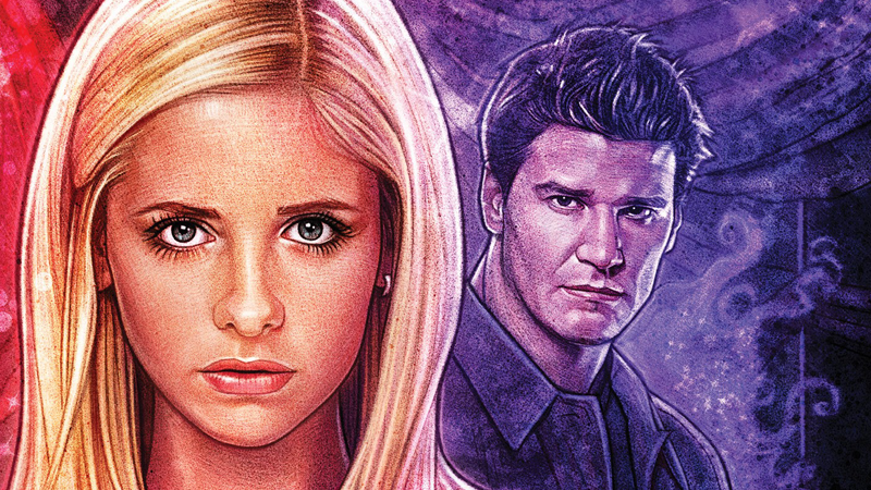 Buffy And Angel Will Fight Over Who Gets To Save The World In Boom Studios' First Buffy Comic Crossover